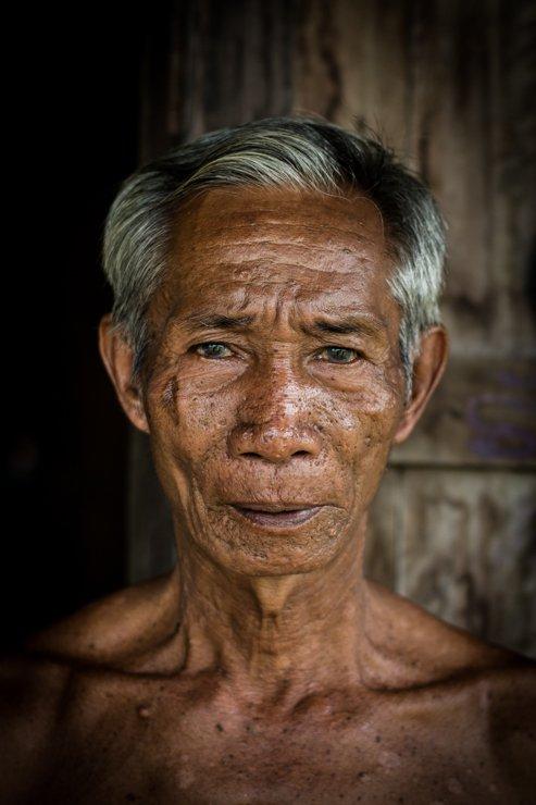 Khong Island or Don Khong, Laos