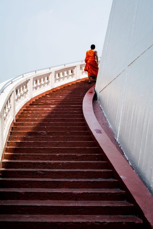 Monk form Thailand