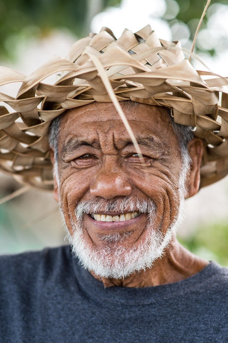 Portrait Bora Bora