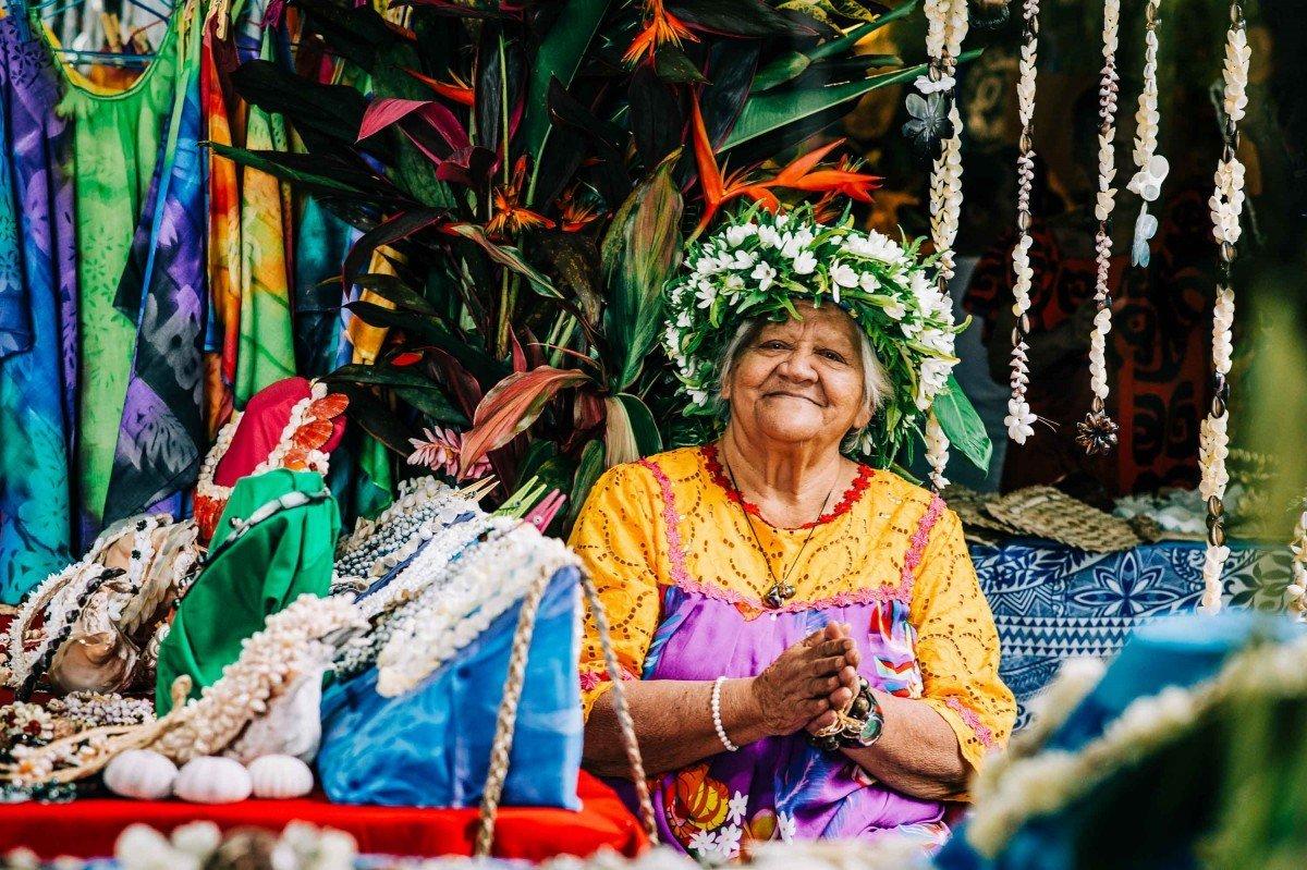 People of Bora Bora