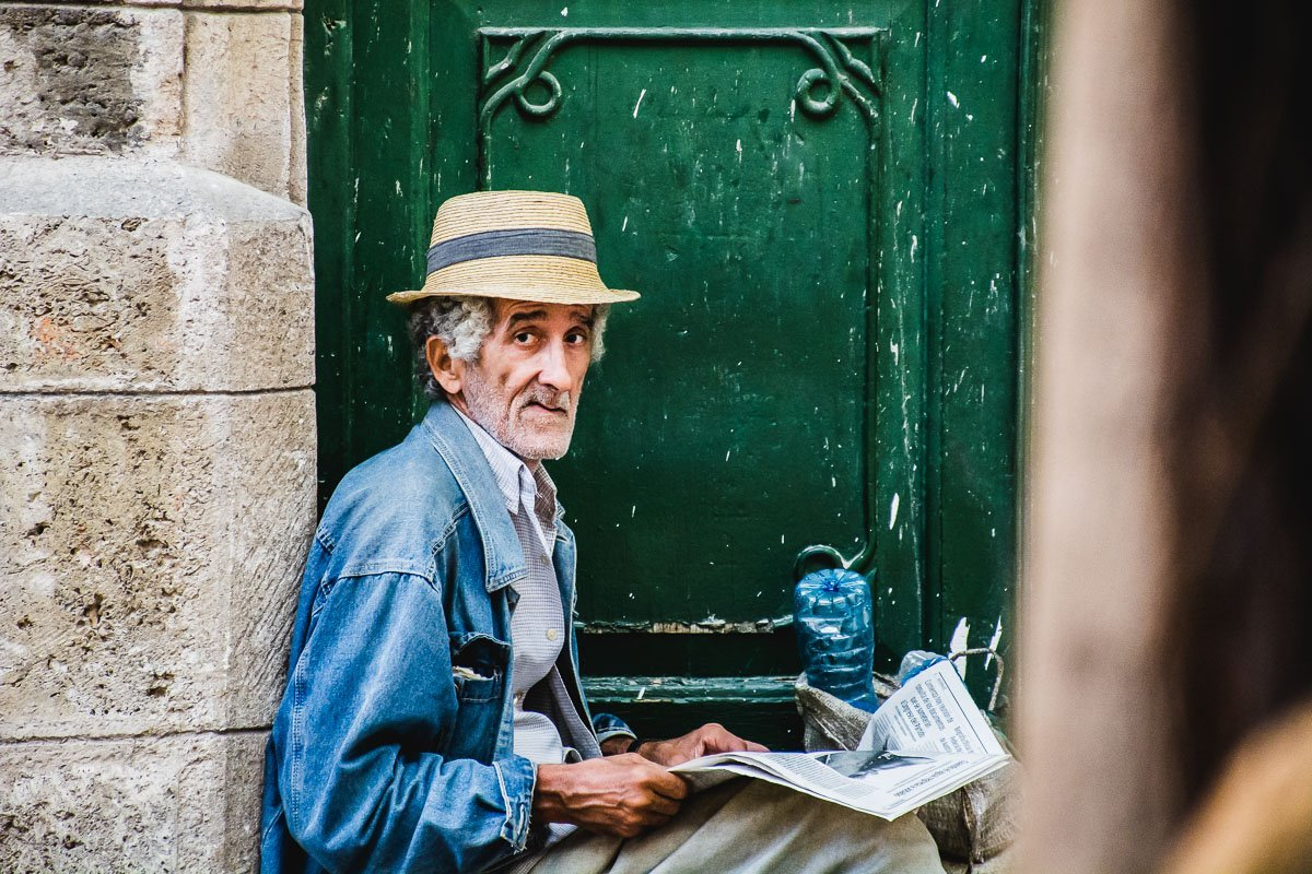 Reading All Around the World, Havana, Cuba