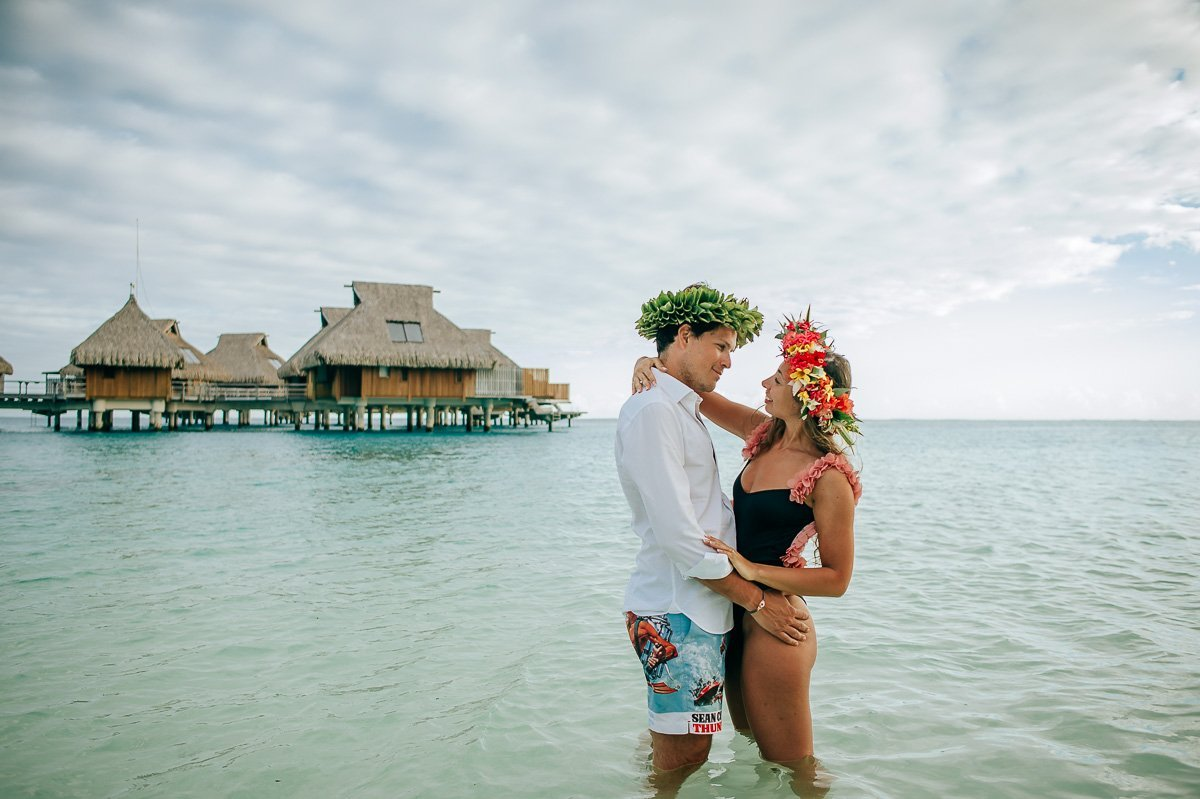 Conrad Bora Bora Nui - Honeymoon Photography