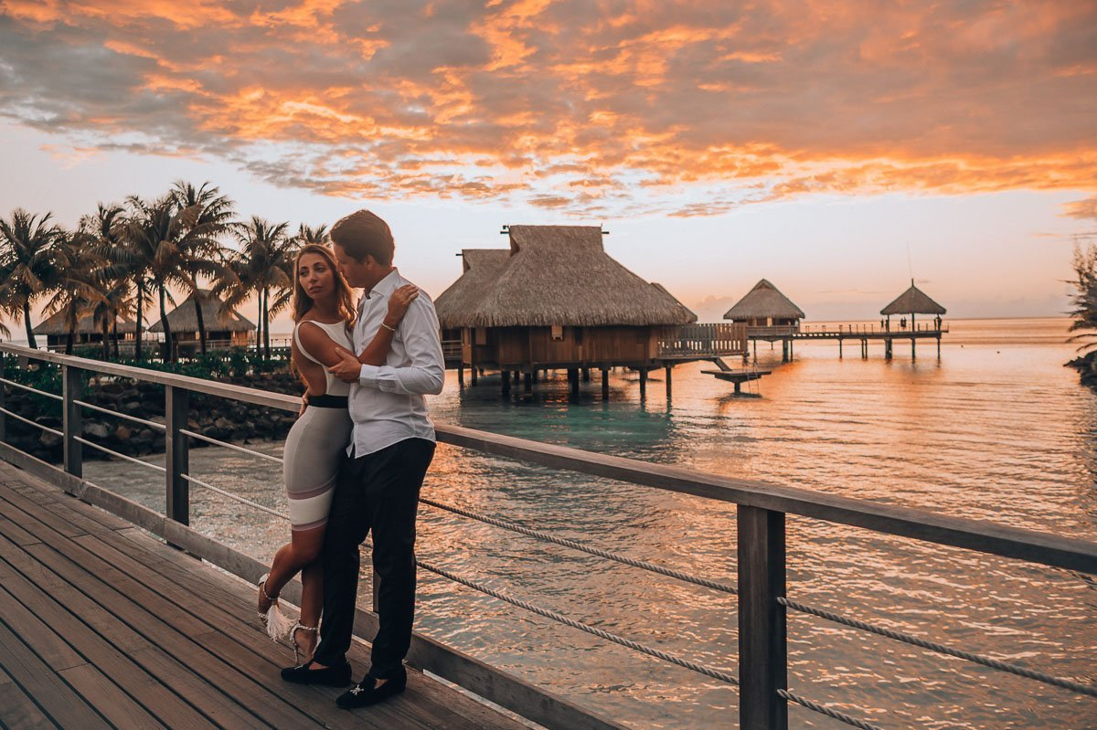 Sasha Popovic - Photography | Bora Bora Wedding & Honeymoon | Tahiti