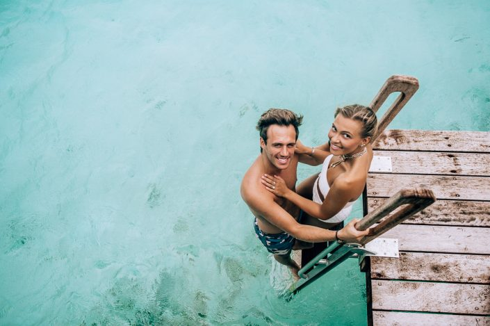 Four Season Bora Bora - Honeymoon and Couple Photography