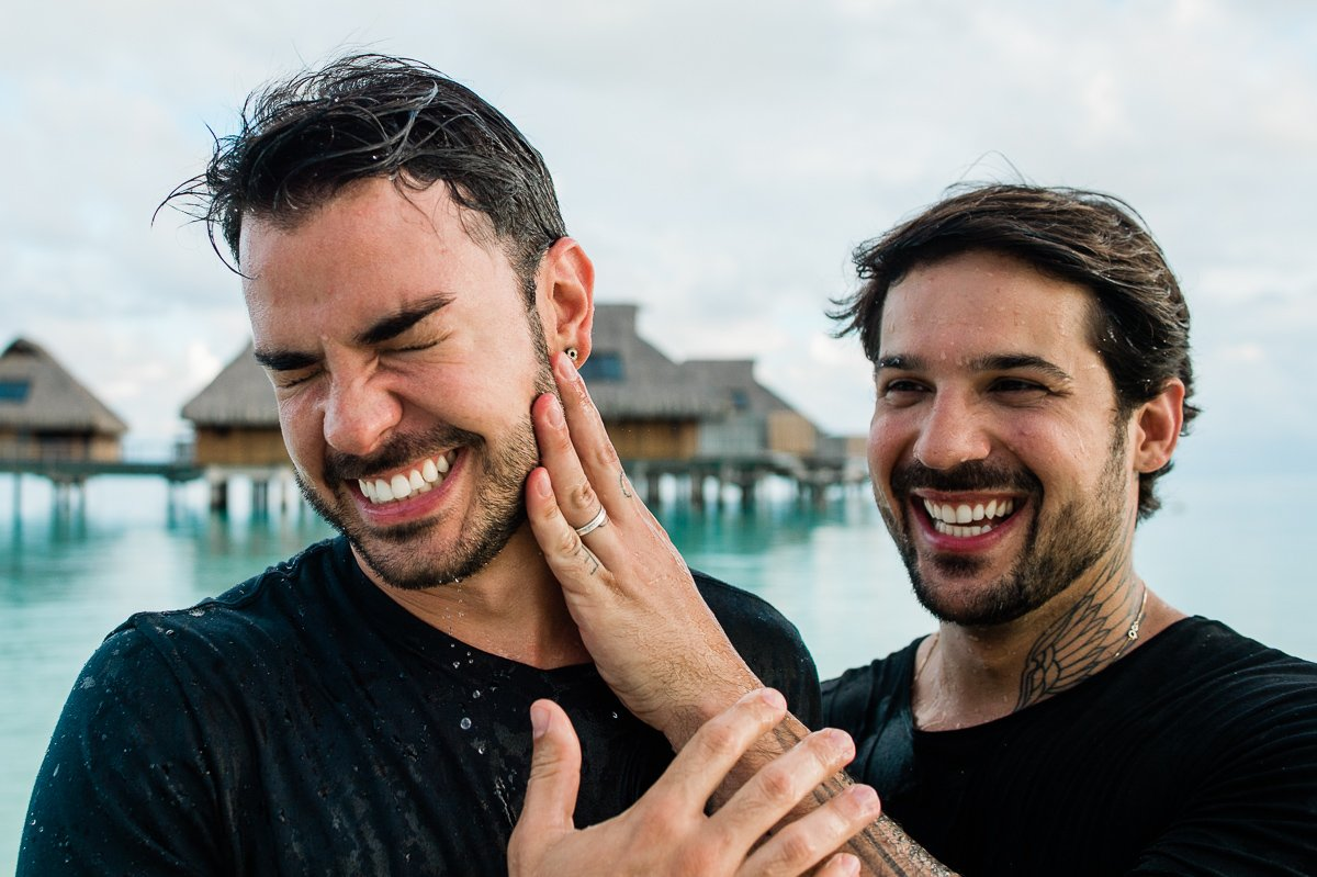 GAY, LESBIAN, LGTBQ WEDDINGS Bora Bora Photographer