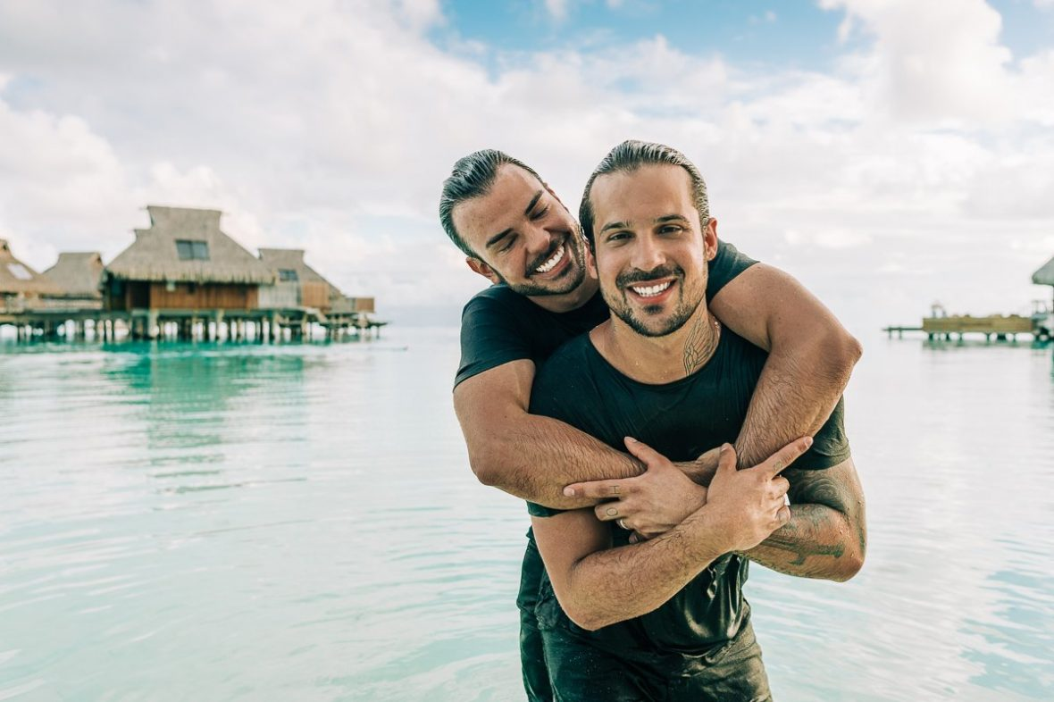 GAY, LESBIAN, LGTBQ WEDDINGS Bora Bora Photographer