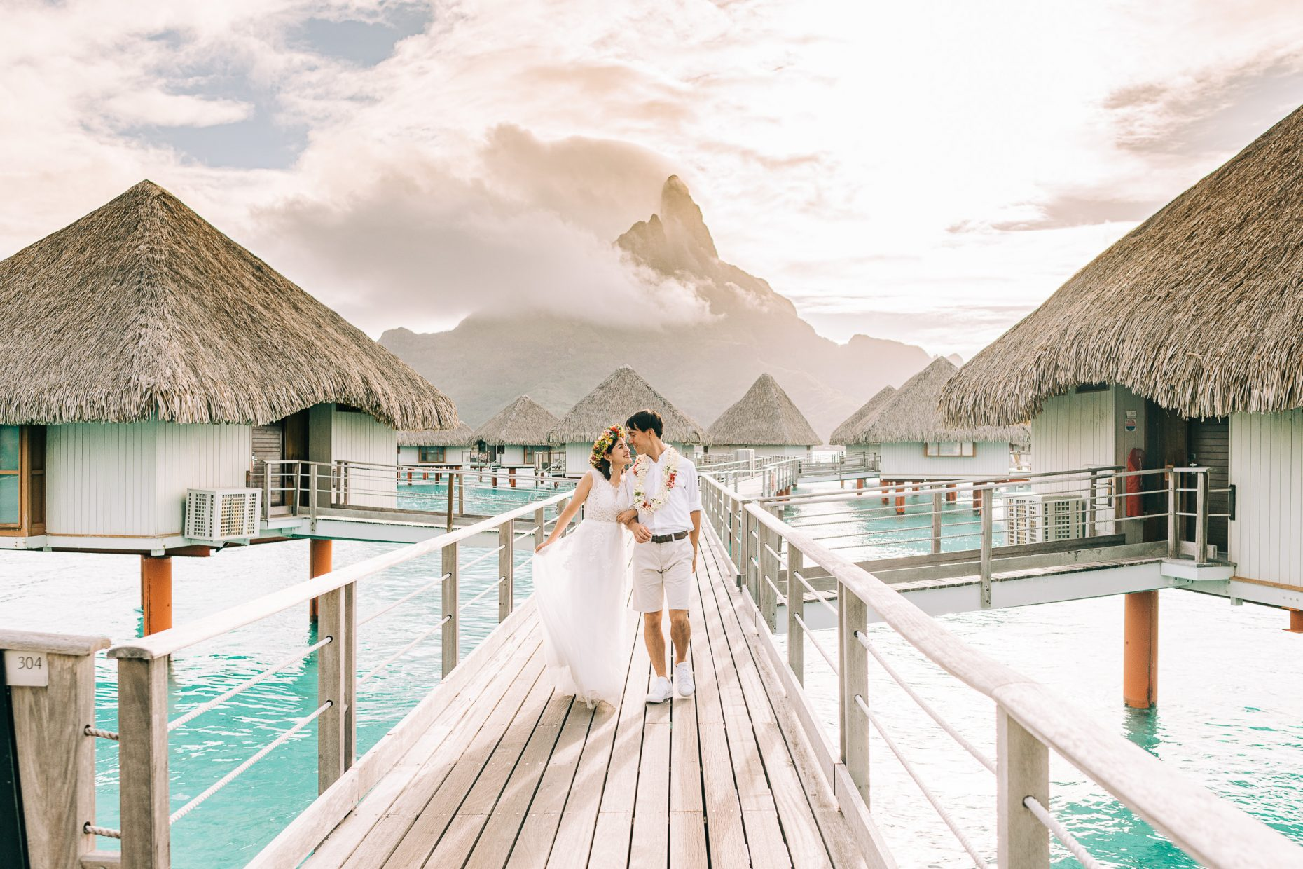 Bora Bora Honeymoon - Photographer
