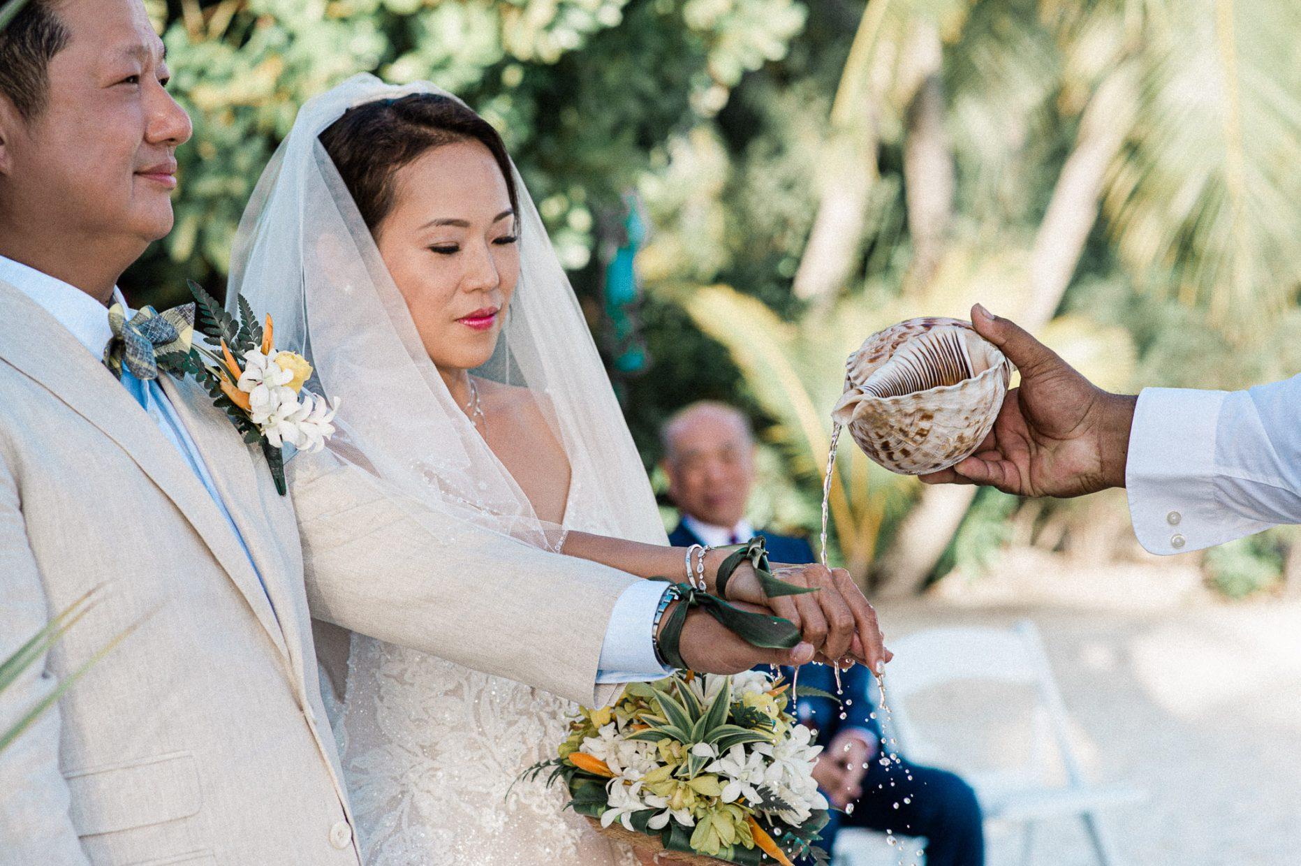 LLG group, Four Season Bora Bora Wedding Event