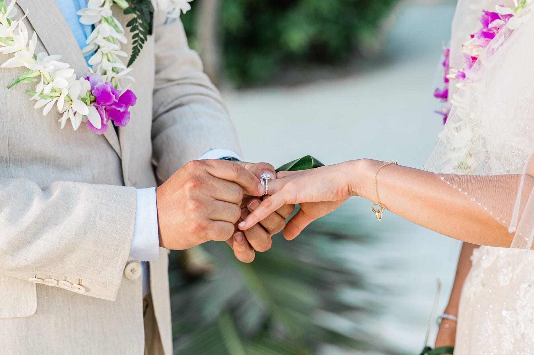 LLG group & Four Season Bora Bora Wedding Event