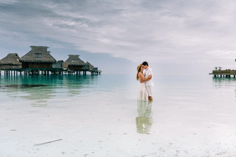 BoraBora Photographer | Honeymoon at Conrad Bora Bora Nui