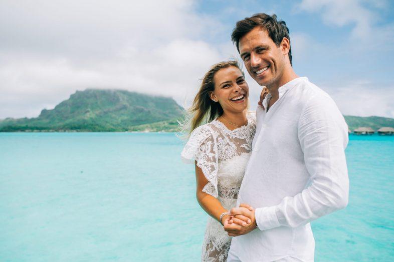 C&J Honeymoon in Four Season Bora Bora-11