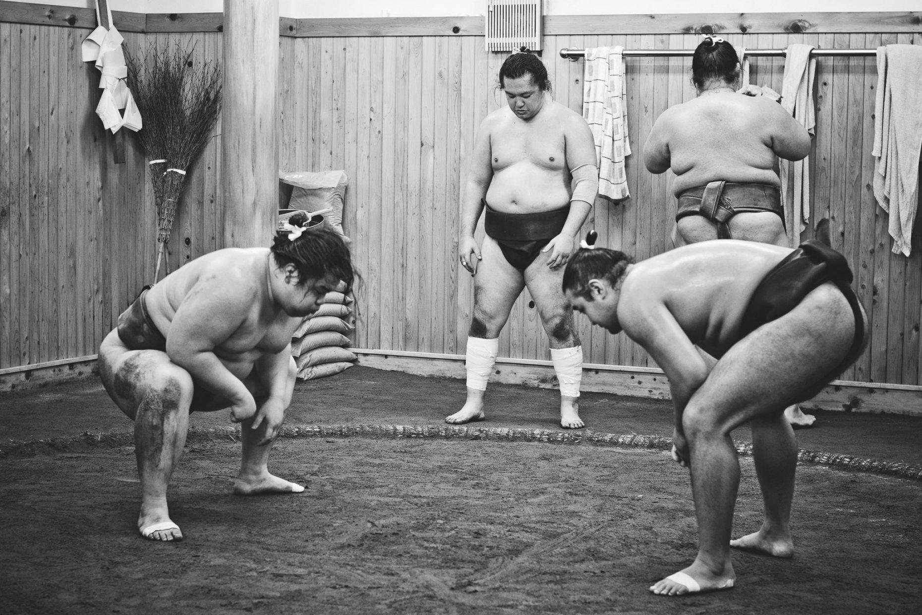 Sumo Training , Japan - Tokyo