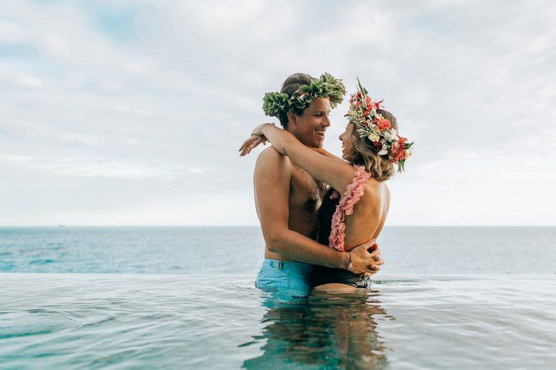 Bora Bora Photographer   Honeymoon at Conrad Bora Bora Nui