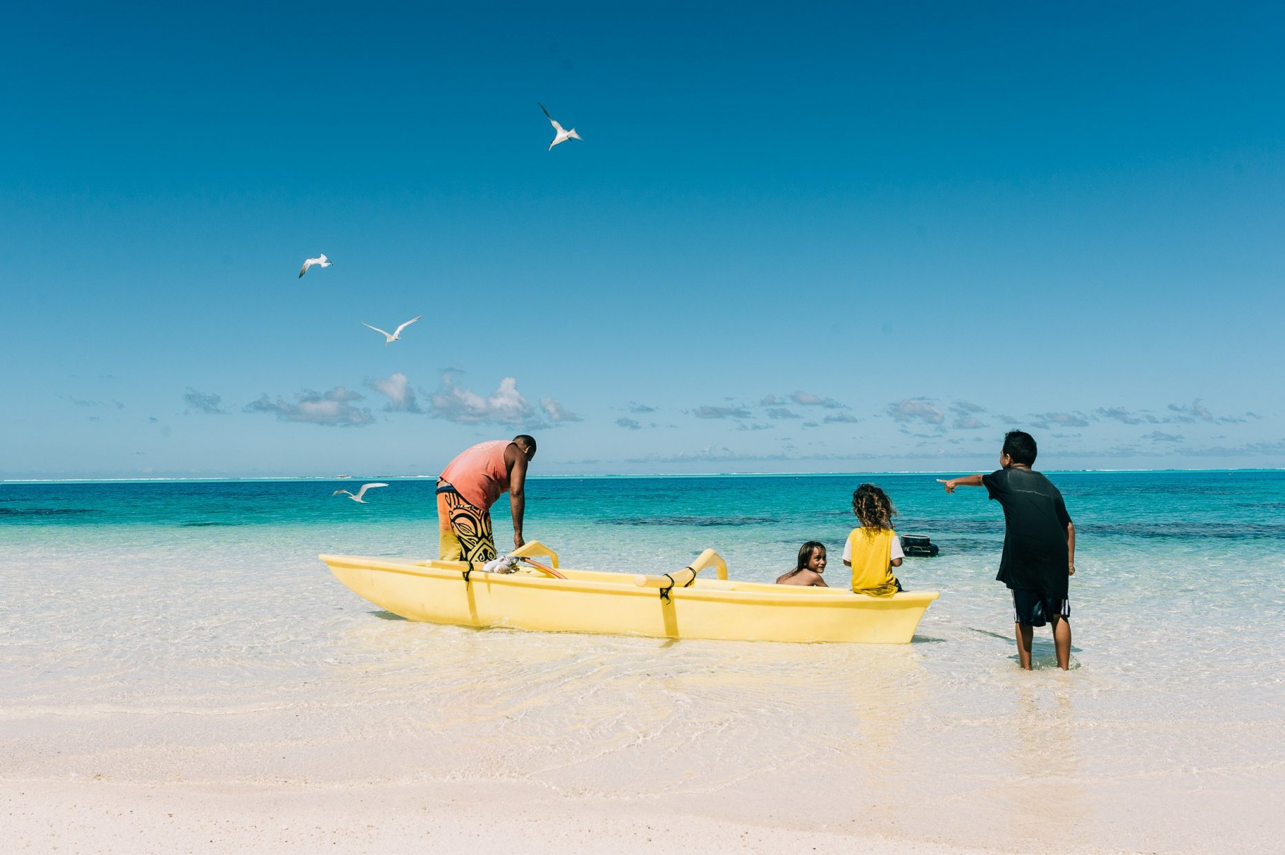 Bora Bora, People of Island